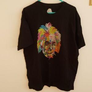 Used Einstein mens shirt